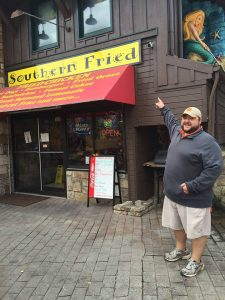 Southern Fried is worldwide! (Gatlinburg TN)